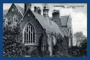 Catholic College, Wimbledon: The Hall