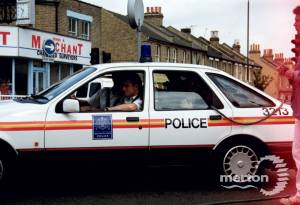 """A scene from police drama """"The Bill"""""""