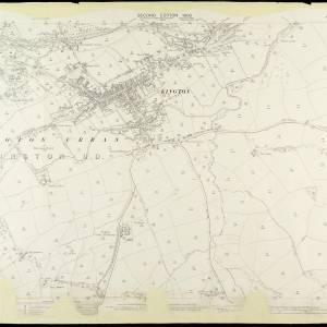 OS Sheet XVII.7 Kington 1903