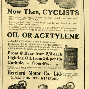 Now then, cyclists