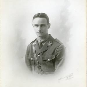 Bertram Bolt in uniform