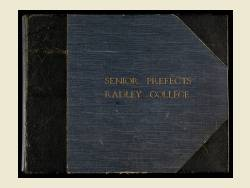 Photograph Album 1875-1938 - Senior Prefects