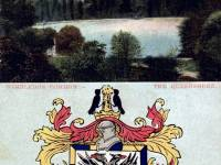 Queensmere, Wimbledon Common and coat of arms