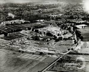 Aerial  View Morden