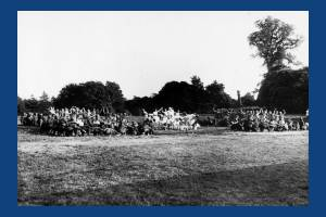 Wimbledon Historical Pageant: Floral Tableau