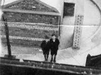The view from the roof 32 Dorset Road during the Blitz