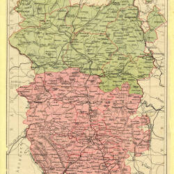 Historic maps of Herefordshire