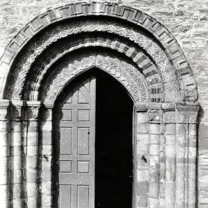 Bromyard Church, south door