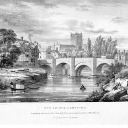 Wye bridge, Hereford