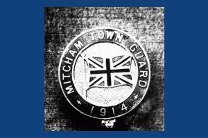 Mitcham Town Guard  Badge