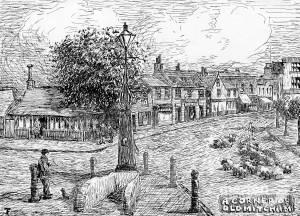 A corner of old Mitcham