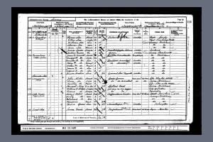 1901 Census - Ravensbury, Upper Green, Mitcham