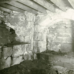 Nash's House, High Town, Hereford, cellar 1930