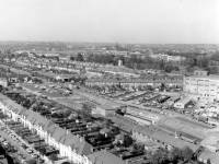 Aerial view of the Morden area
