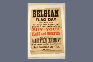 Belgian Flag Day Poster