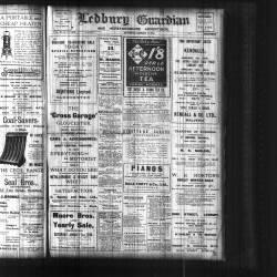 Ledbury Guardian 1914