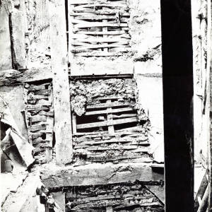 Nash's House, High Town, Hereford, wattle and daub, 1930