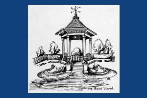 Bandstand at John Innes Park