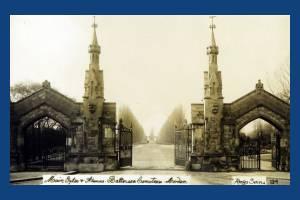 Battersea Cemetery, Lower Morden Lane.