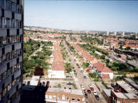 Windermere Avenue, Aerial view  from Civic Centre, Crown House, Morden