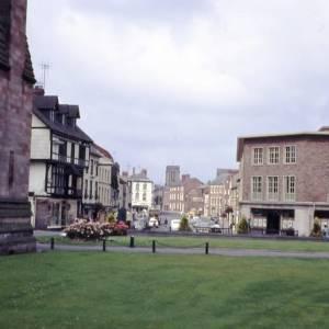 King Street, Hereford, 1972