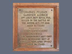 Commemorative Plaques / Panels