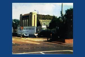 Former Odeon cinema, Morden: Prior to demolition