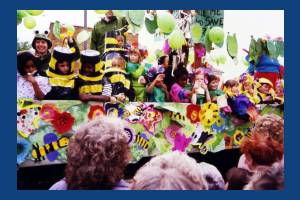 Carnival Float, St Mark's School, Mitcham