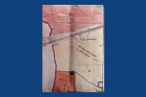 Harriott's Estate, West Barnes: 1865 map Version One