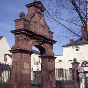 Cemetry gates, Commercial Road, Hereford