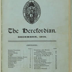 The Herefordian No 80_December 1915