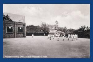 Holy Cross Convent, Wimbledon: Playground